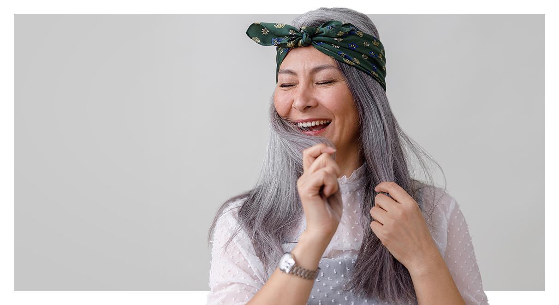 Deu branco? Como fazer a transição para cabelos grisalhos!