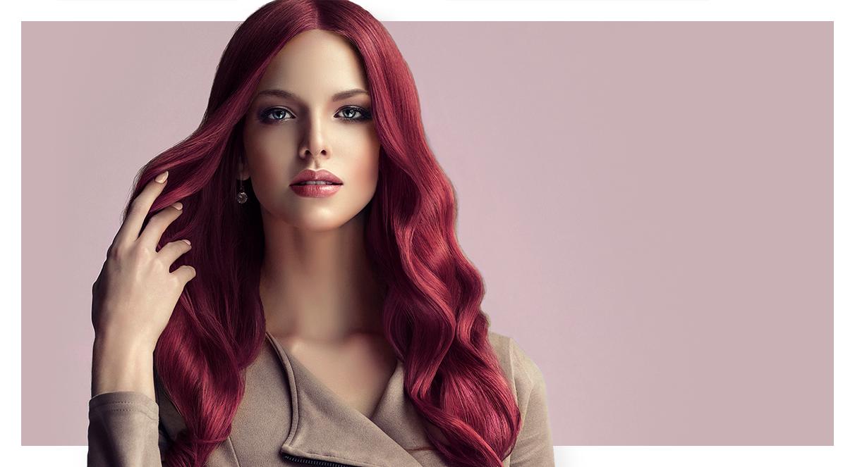 Os melhores tons de vermelhos, roxos e ruivos para se inspirar